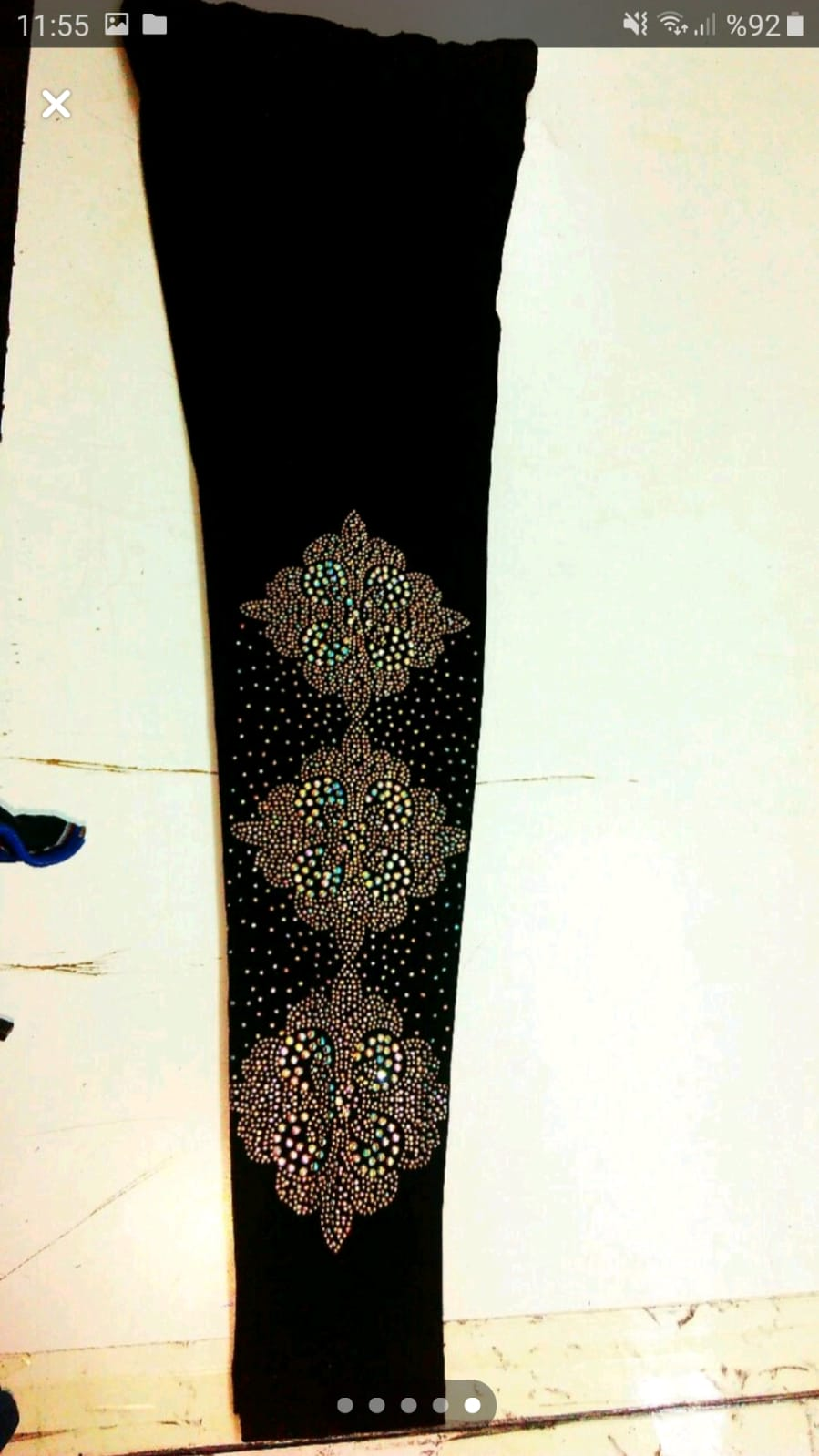 women tights with stone