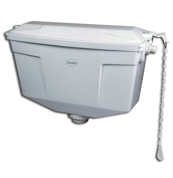 Exposed Plastic Cisterns