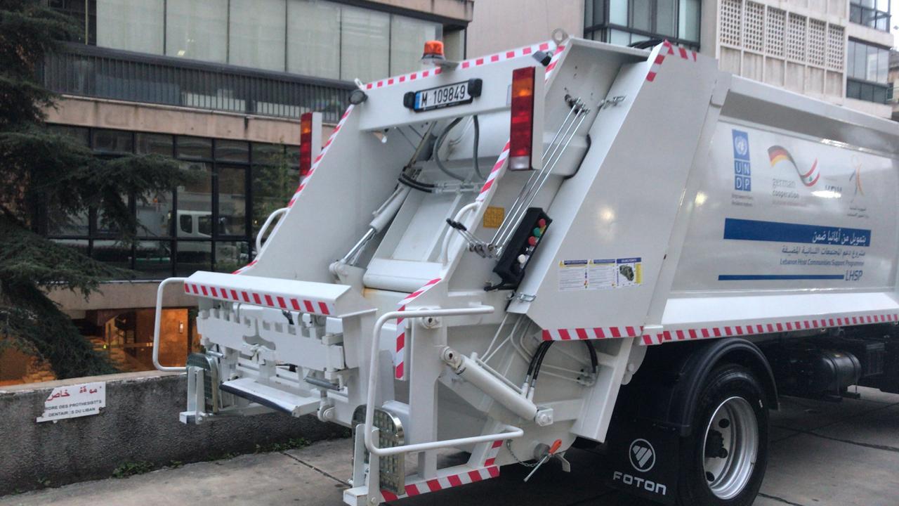 Comacteur à ordures hydraulique