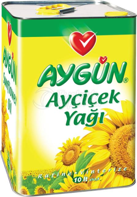 10 Lt Tin Refined Sunflower Oil