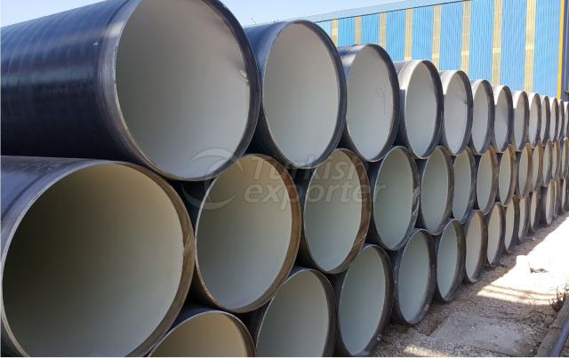 Carbon Steel Pipe-Cement Mortar