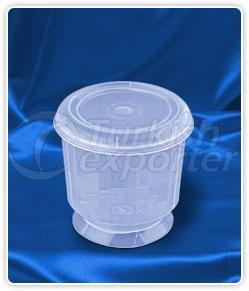 400 ml. round caps