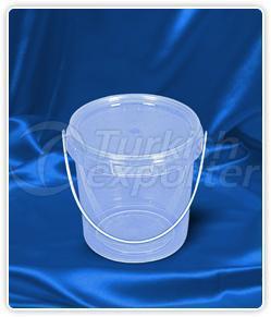1200 ml. round bucket