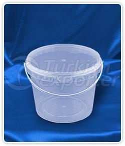 2500 ml. round bucket