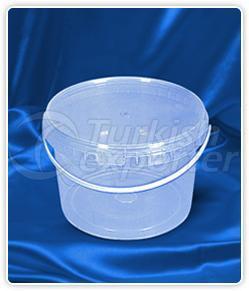 3000 ml. round bucket