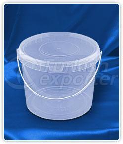 5000 ml. round bucket