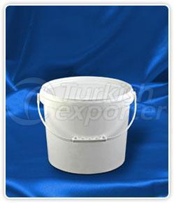 9000 ml. round bucket