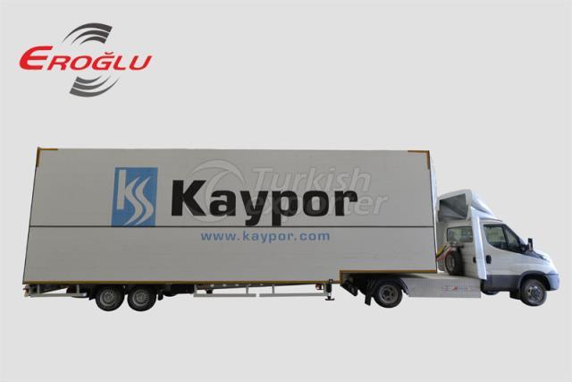 Iveco mini trailer