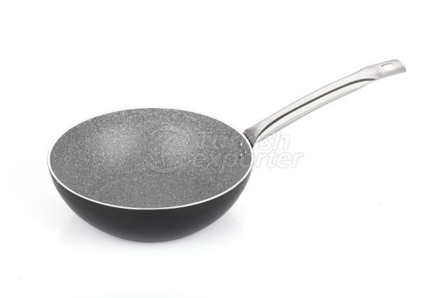 MILENYUM GRANITE WOK PAN