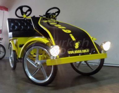 Four Wheel Electric Bicycle