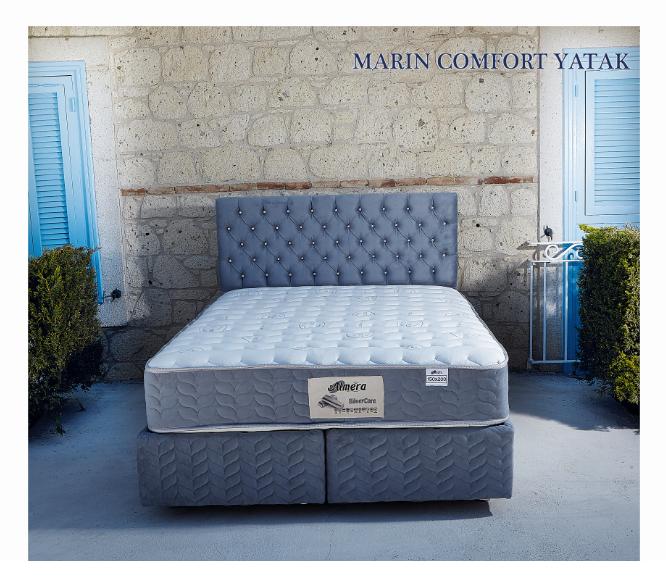 Marin Yatak - Solid Baza - Marin Baslik
