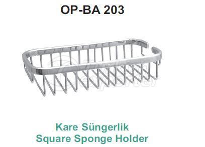 Square Sponge Holder  OP-BA 203