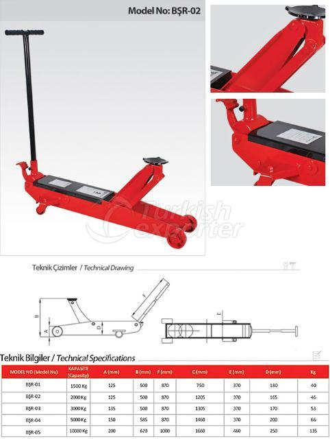 Hydraulic Garage Car Lifters
