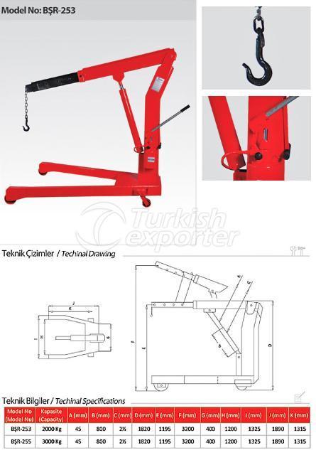 Hydraulic Garage Winches