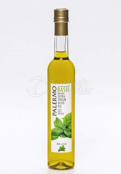 Basil Infused Extra Virgin Olive Oil 500ml