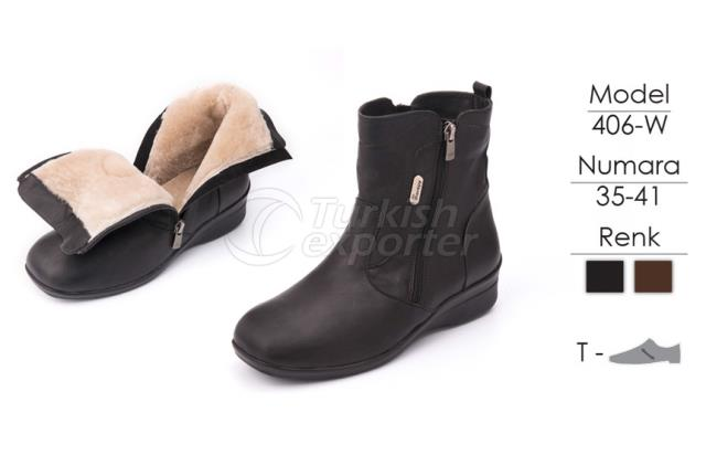 Diabetic-Orthopedic Boots 406W