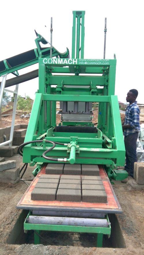 Concrete Block and Interlock Making Machines _3_