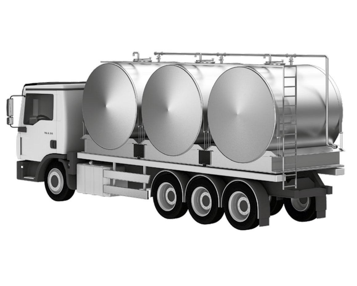Milk Transportation Tank