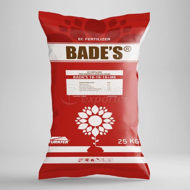 BADE'S 18.18.18-ME