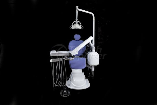 Quatre unités dentaires