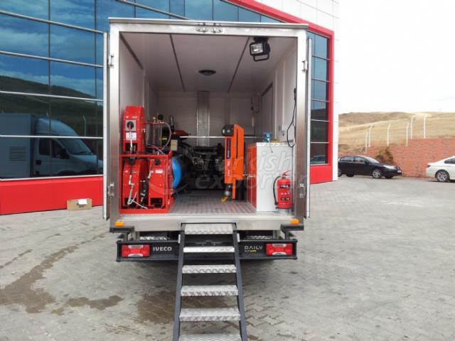 Mobile Tire Repair Vehicle