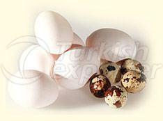 Куриные и перепилиные яйца