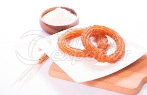Halka Tatli (rings of deep fried pastry)