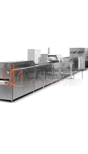 one shot chocolate moulding line CME 1200