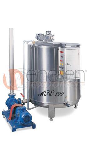 tanque de derretimento de manteiga MTE 500 - 10000