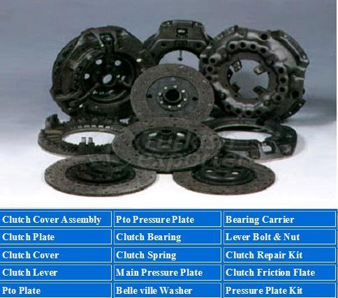 clutch cover assambly parts