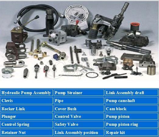 hydrolic pump and control parts