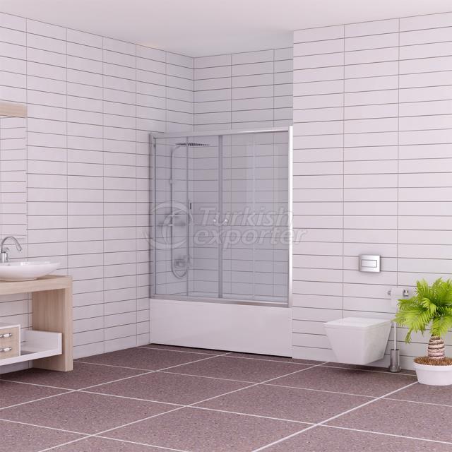 Straight Shower Cabin Ahsen