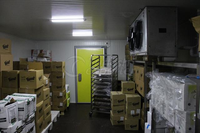 Frozen Products Storage