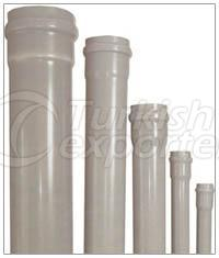 PVC - Clean Water Pipes with U Pressure and Accessories