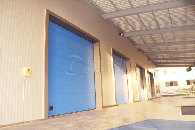 Industrial Construction Doors