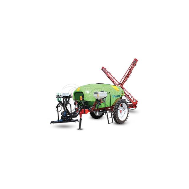2000 Lt. Electronic X Type Boom With Membrane Pump