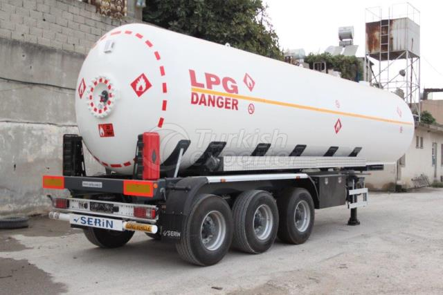 45m3 Lpg Tankı Yarı Dorse