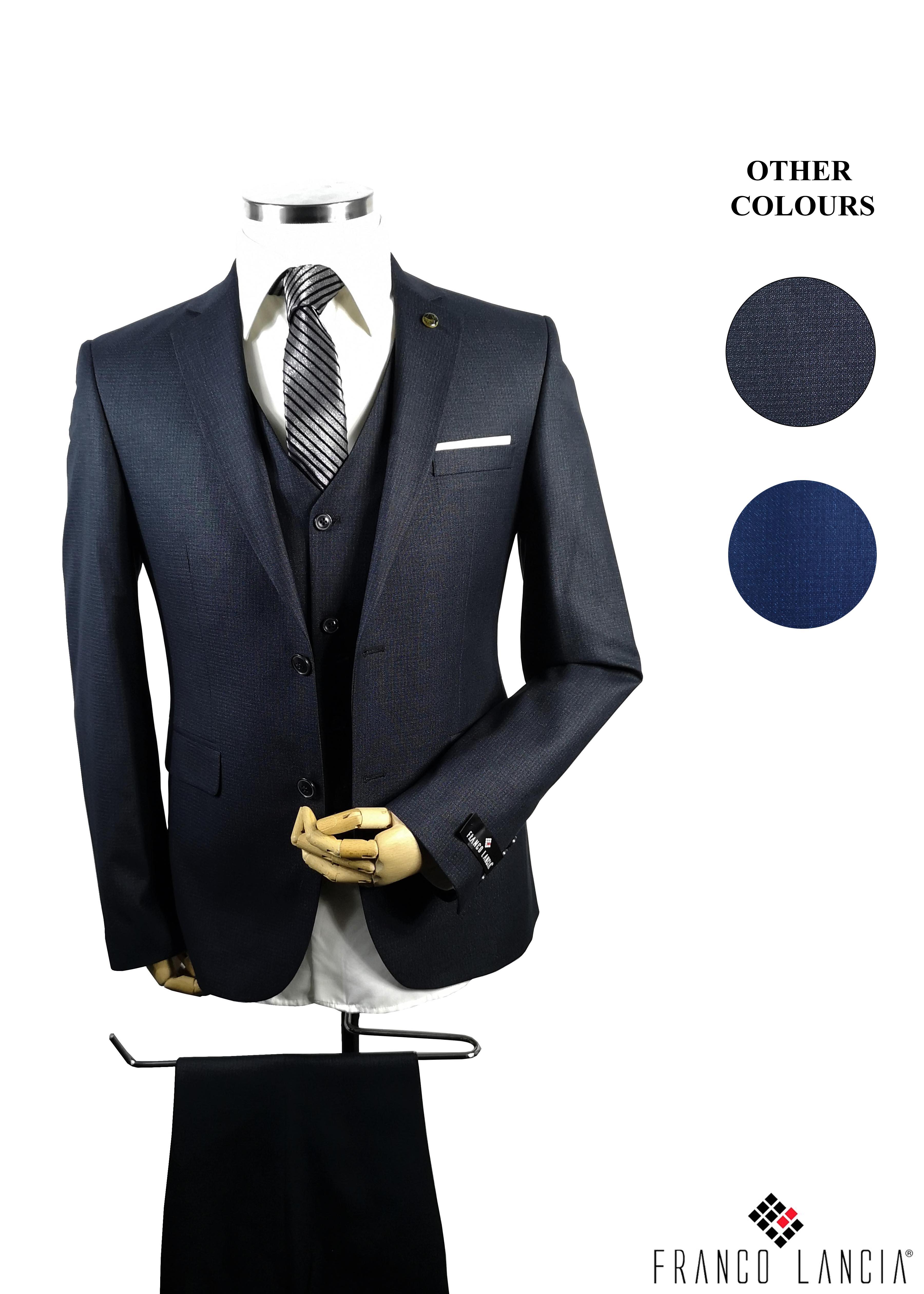 3 Piece Suit Model and Colors