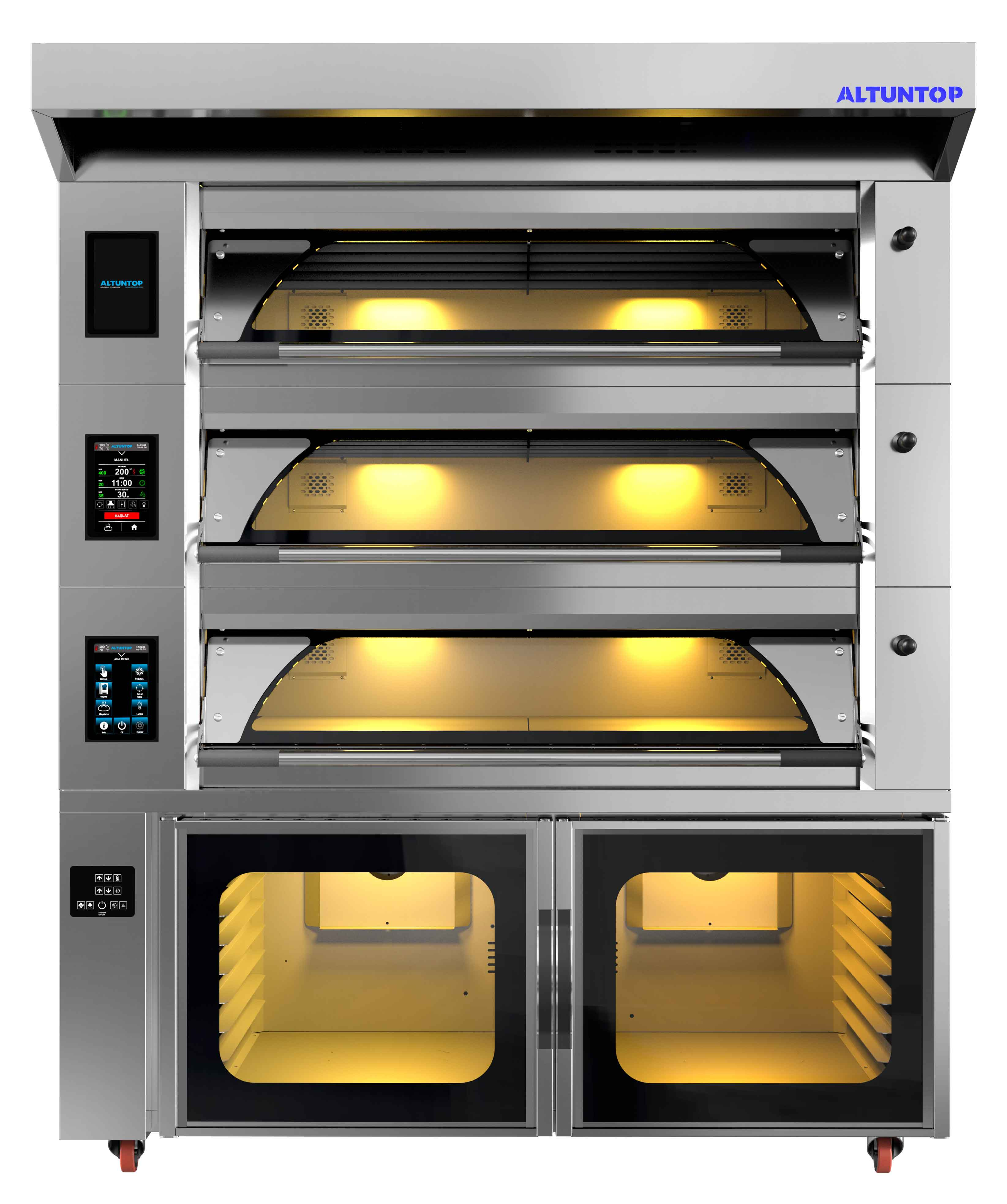 ELECTRICAL DECK OVEN
