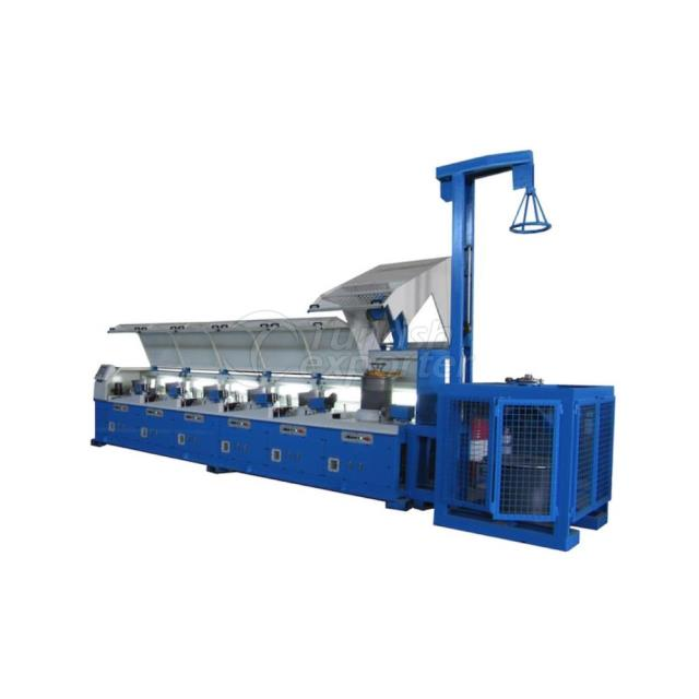 Inclined-Block Wire Drawing Machine With Denser Lever