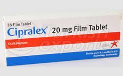 CIPRALEX 20 MG 28 TABLETS