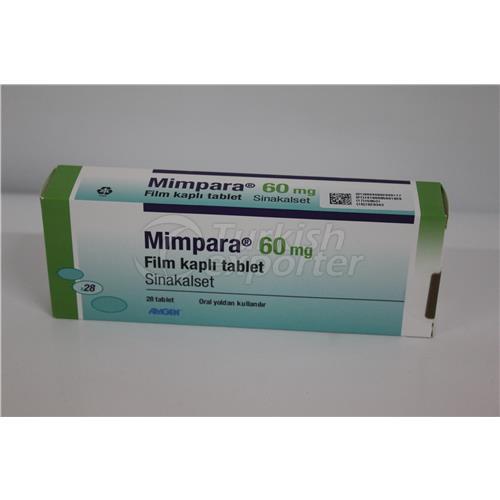 MIMPARA 60 MG 28 TABLETS (SENSIPAR)