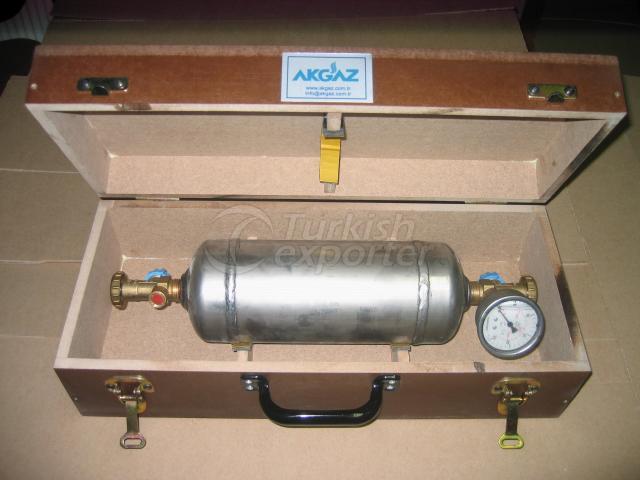 LPG Sampling Comtainer