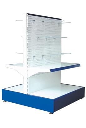 Supermarket Shelves Island Gondola Unit
