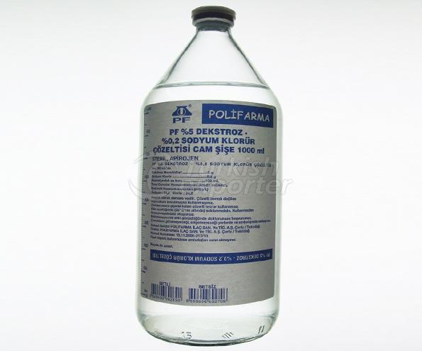 محلول Dextrose NaCl I.V.