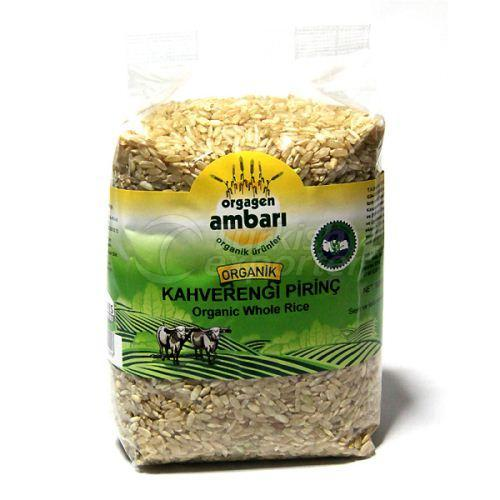 Organic Brown Rice 500 Gr