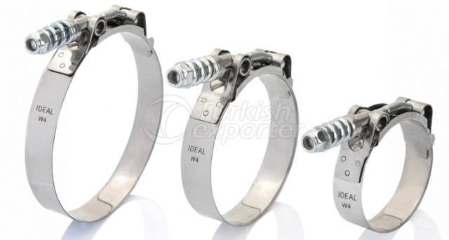 Spring T-Bolt Hose Clamps - Ytb