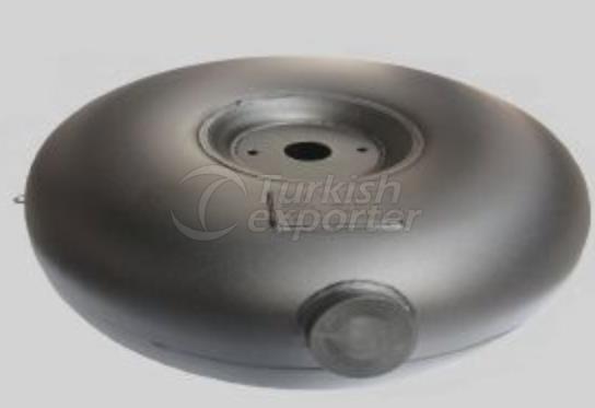 TMS Toroidal Type External Angular LPG Tank
