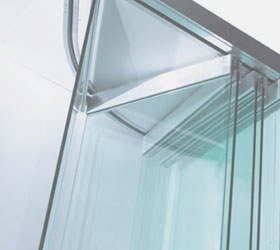 Suspended Glass Balcony