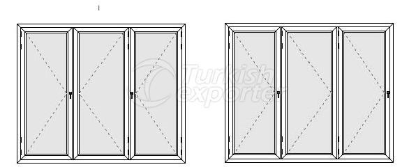Lockable Door System Profiles